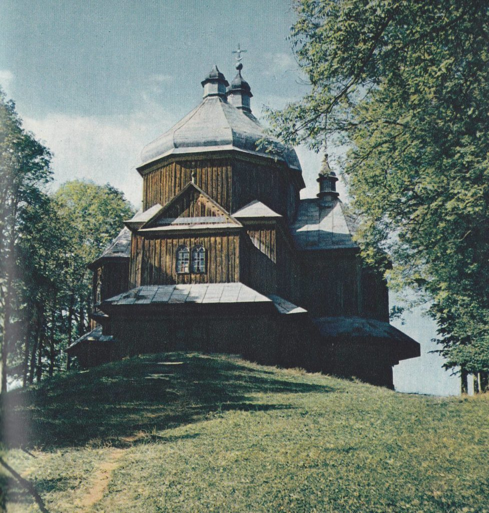 Church of Archangel Michael in Lutowiska